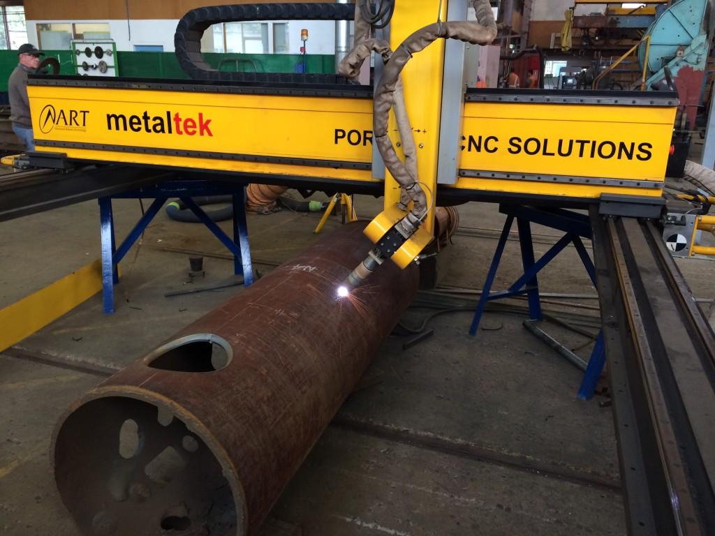 Metaltek CNC Beamline